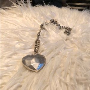 American Eagle Heart Necklace